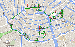 Thumbnail map for Trees of Amsterdam walk